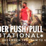 2017 Grinder Push Pull Invitational