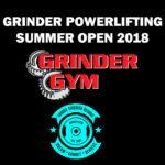 Grinder Powerlifting Summer Open 2018