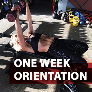 ONE WEEK ORIENTATION